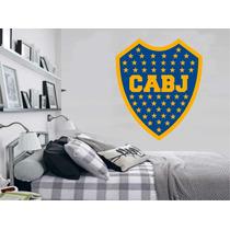 Adesivo De Parede Escudo Brasão Time Boca Júnior Argentina