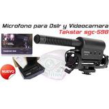 Microfono Para Dslr Y Videocamara Takstar Sgc-598