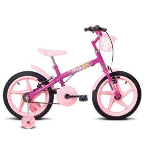 Bicicleta Aro 16 Fofys Pink