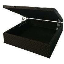 Cama Box Baú Casal Com 35/40cm Maior Profundidade Do Mercado