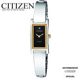 Citizen Ez6364-59e Acero 2 Tonos Para Mamá --kairos--