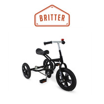 Triciclo A Pedal Jeico Britter Soporta 50k Rueda De Goma