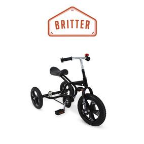 Triciclo A Pedal Britter Hasta 50k Rueda De Goma