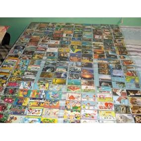 100 Cartões Telefônicos Diferentes - Brasil Por 20,00 - Viii