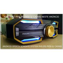 Philips Aparelho Som Philips Fx50 Sem Caixas
