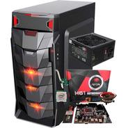Pc Gamer I3/ Ram 8gb/ Ssd 256gb/ Fonte 500w/ Gab Led Barato