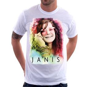 Camiseta Janis Joplin A Little Girl Blue