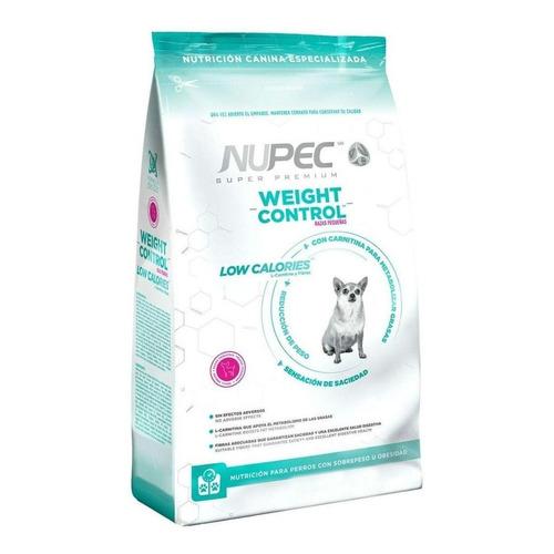 Alimento Nupec Nutrición Especializada Weight Control para perro adulto de raza pequeña sabor mix en bolsa de 2kg
