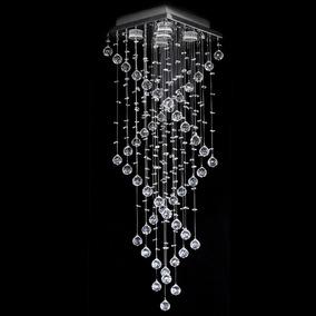 Lustre De Cristal Original Escada 38x38x120cm - Jp-aomori-38