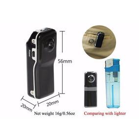 Mini Filmadora Espia Com Sensor De Movimento C/frete