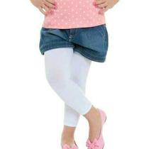 Meia Calça Legging Infantil Fio 70