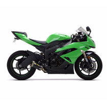 Escape Two Brothers Kawasaki Zx6r Zx-6r 636 Carbono
