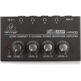 Amplificador De Auriculares Behringer Ha 400