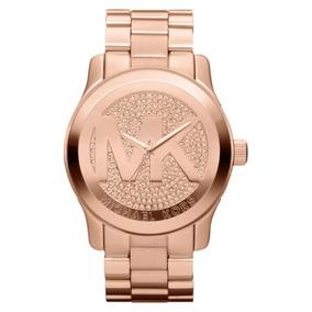 66ab4d7883ab7 Relogio Michael Kors Rose Strass - Joias e Relógios no Mercado Livre ...