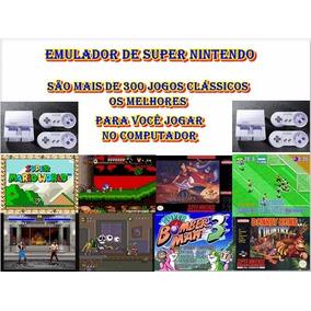 Super Nintendo Emulador + 300 Jogos