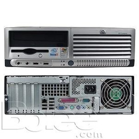 Pc Computador Hp Dc5100 Sff Recertificado Perfecto Estado