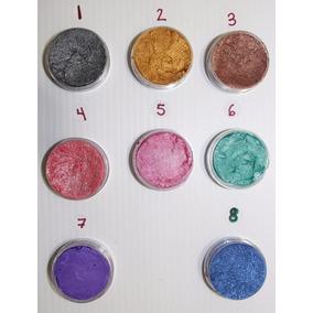 Maquillaje Profesional Base Agua Metalico Para Pintacaritas