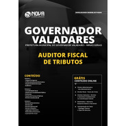 Apostila Concurso Governador Valadares 2020 Auditor Fiscal