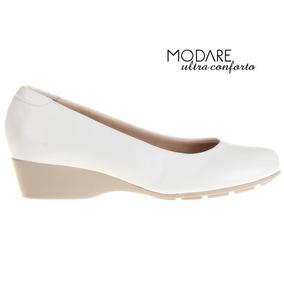 55b9931b1 Sapato Branco Enfermagem Anabela Sapatos - Sapatos no Mercado Livre ...