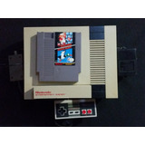 Nes Nintendo Entertainment System Con Control Y Un Juego A