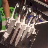 Juego Cuchillos Profesionales Chef 6 Pzas Original 100% Usa