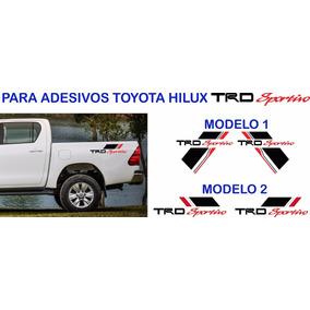 Faixa Lateral Toyota Hilux Acessorios Trd Sportivo Par