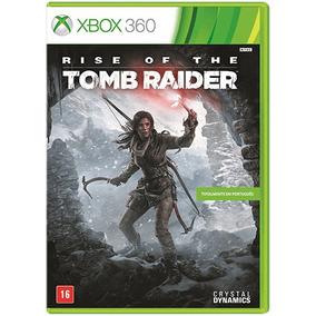 Rise Of The Tomb Raider X360 Midia Fisica Original Lacrado