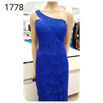 Vestido De Festa Pink Azul Coral Preto Renda Brilho 1778