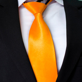 Gravata Amarela C/ Zíper: Copa, Casamento, Uniforme E Brinde