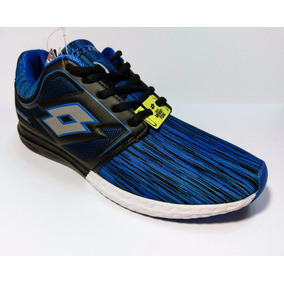 Tenis Lotto Elek Royal Black Para Hombre Originales