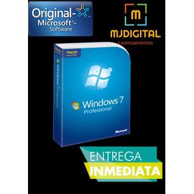 Licencia Windows 7 Professional 32&64 Bits