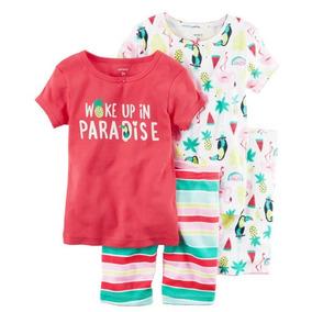 Pijama Pijamas Carter Carters 2 Cambios Niña Bebe