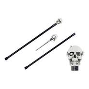 Bengala Espada Caveira Punhal Faca Camuflada Skull