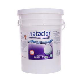 Pastillas De Cloro Activo 200gr De 20kg Nataclor