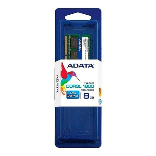 Memoria RAM 8GB 1x8GB Adata ADDS1600W8G11-S