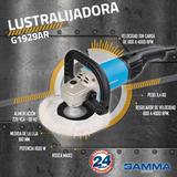 Lijadora, Pulidora Gamma 7 Pulgadas