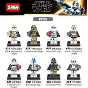 Star Wars Clones Troopers Figuras Compatibles Lego 8 Pzas