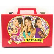 Valija Juliana Tatuajes Tattoo Original Tv