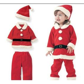 Traje Disfraz De Santa Claus, Papa Noel De Bebes Niños Y Adu
