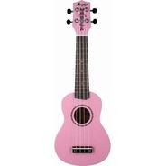 Ukulele Soprano Memphis By Tagima Honu Flamingo Pink