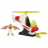 Falcon Adventures Marvel Vehiculo Helicoptero Con Gancho Fig
