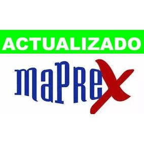 Base De Datos Maprex Mdb Agosto 2017.