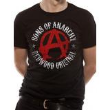 Remera Oficial Sons Of Anarchy Symbol Fan Store Mvd Merch.
