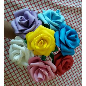 Lembracinha Em Eva Flor 10 Rosas Com Caneta