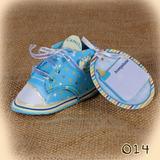 Tarjetas Recoradatorios Invitaciones Baby Shower Zapato