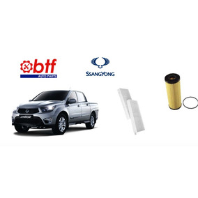 Kit Filtros Ssangyoung Actyon Sports 2.0 Diesel 2013 Diante