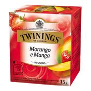 Chá Twinings Morango E Manga 10 Sachês