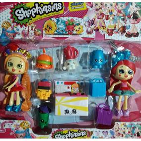 Kit Shopkins Shoppies Princesas 2 Bonecas +acessórios Lindas