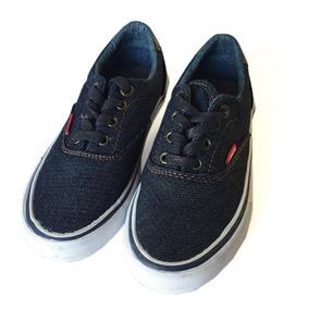 Zapato Zapatillas Levis Jean Niño T12,13 Usa, 28, 30arg