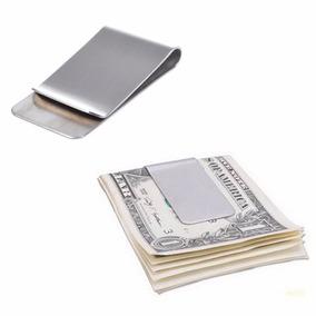 Money Clip Color Plata P/tarjetas Y Billetes Envío Gratis